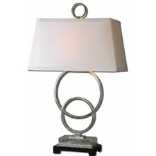 """Bacelos 34"""" H Table Lamp with Rectangular Shade"""