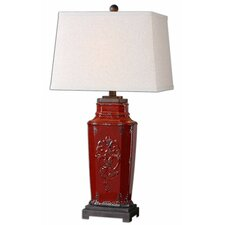 """Centralia 31"""" H Table Lamp with Rectangular Shade"""