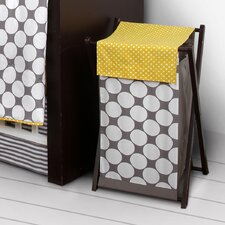 Dots/Pin Stripes Hamper