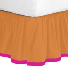 Tangerine Bed Skirt