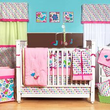 Botanical 10 Piece Crib Bedding Set