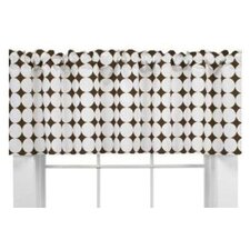 "Quilted Circles Dot 65"" Curtain Valance"