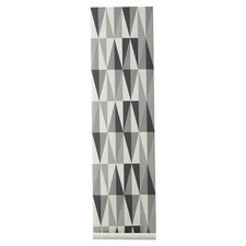 "Spear Wallsmart 33' x 21"" Geometric Wallpaper"