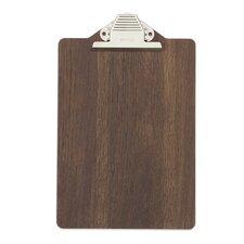 Smoked Oak Clipboard