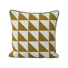 Modern Geometric Cotton Throw Pillow