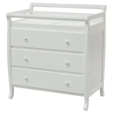 Emily 3 Drawer Changing Dresser