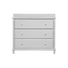 Jenny Lind 3 Drawer Changer Dresser