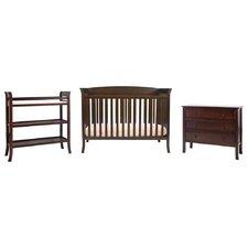 Tyler 4-in-1 Convertible 5 Piece Crib Set