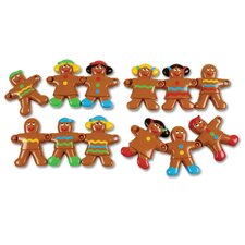 Smart Snacks 12 Piece Gingerbread Sort and Snap Set