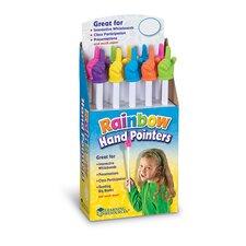 10 Piece Rainbow Hand Pointers  Set