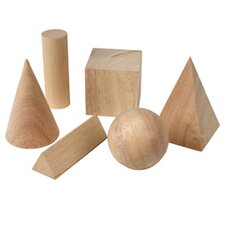 6 Piece Basic Geometric Solids  Set