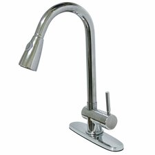 Single Hole Kitchen Faucet with Single Lever Handle