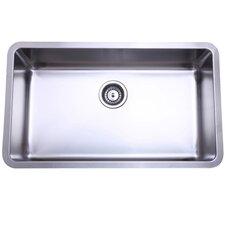 """30.13"""" x 17.88"""" x 10"""" Undermount Single Bowl Kitchen Sink"""