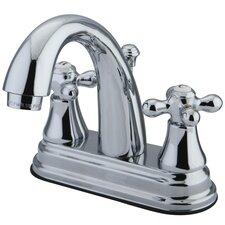 Elizabeth Centerset Bathroom Faucet with Double Cross Handles