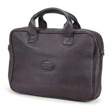 Small Business Leather Laptop Briefcase