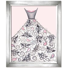 Dress Up Petal Princess Canvas Art