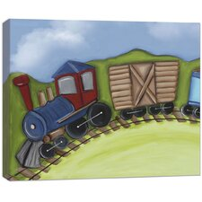Transportation Engine Canvas Art