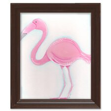 Sea Creatures Fiona the Flamingo Framed Art