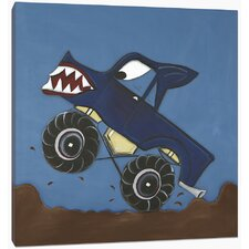 Transportation Monster Truck Canvas Art