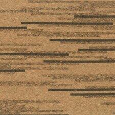 "12"" Solid Cork Hardwood Flooring in Tigress"
