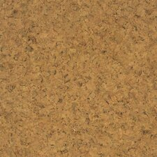 "Floor Tiles 12"" Solid Cork Hardwood Flooring in Sandy"