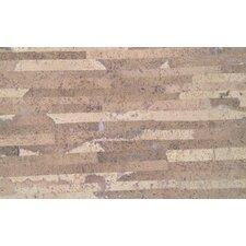 "Plank 7"" x 46"" x 10.5mm Cork Laminate in Matte Laso Creme"