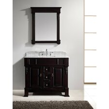 "Huntshire 40"" Single Bathroom Vanity Set with Mirror I"
