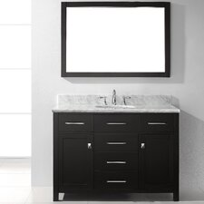 "Caroline 48"" Single Bathroom Vanity Set with Mirror"