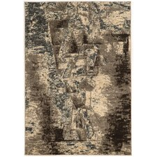 Masters Man Gray/Taupe Area Rug