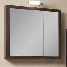 "Luna 30.9"" x 27.7"" Surface Mounted Medicine Cabinet"