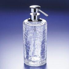 Crackled Glass Soap Dispenser