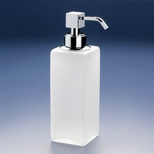 Free Standing Frozen Glass Soap Dispenser