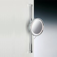 Fluorescent Light Adjustable 3X Magnifying Mirror