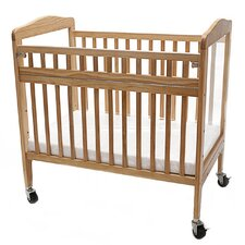 Compact Convertible Crib  with Mattress