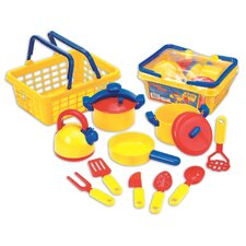13 Piece Pots 'n' Pans Play Set