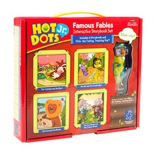 Hot Dots Jr. Famous Fables Interactive Storybook Set with Ollie Pen