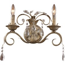 Angelite 2 Light Wall Sconce