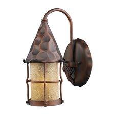 Rustica 1 Light Wall Lantern