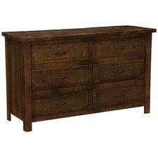 Frontier 6 Drawer Dresser