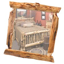Traditional Cedar Log Wall Mirror