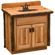 "Hickory 30"" Bathroom Vanity Base"