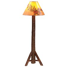 Hickory Floor Lamp