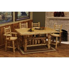 Cedar 5 Piece Dining Set