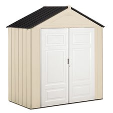 7 Ft. W x 1 Ft. D Resin Storage Shed