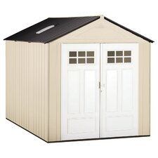 8 Ft. W x 7 Ft. D Plastic Storage Shed