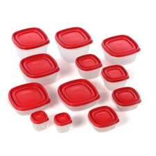 24 Piece Food Storage Container Set