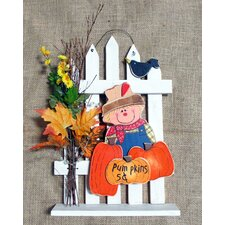Pumpkin Wall Decor