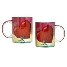All Heart 12 oz. Coffee Mug (Set of 2)