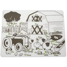 Kids Farm Buddies Placemat