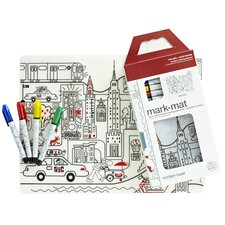 Mark-mat Kid Box New York Placemat